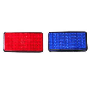 HC-B-55004 BUS LED WARNING LAMP RED/YELLOW/BLUE