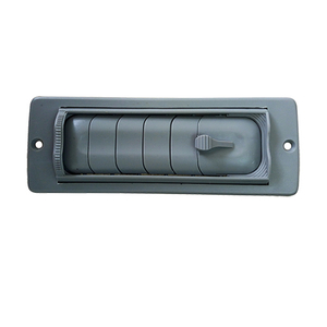 HC-B-12118 bus air vent cap plastic air vent cover auto accessories 146*57 hole size:123*50