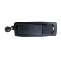 HC-B-10157-2 BUS EASY LOCK WITH KEY ABS/ZINC ALLOY BLACK SILVER