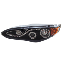 HC-B-1440-1 BUS LED HEAD LAMP 647*445MM WHITE/BLACK W/EMARK