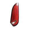 HC-B-2557-1 Brazil BRT popular bus led tail lamp rear light with fiber new style