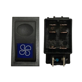 HC-B-54028 Grey Auto Switches Button For Yutong Bus Body Parts